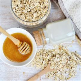 Geurolie voor Kaarsen en Zeep - Havermout, Melk & Honing