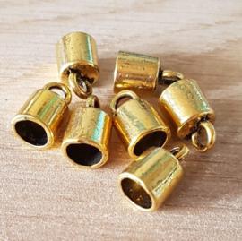 Eindkapje Goud 6 mm