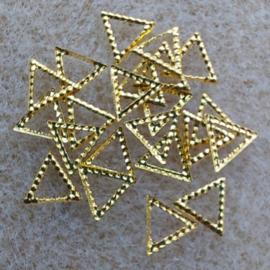 Driehoek - Goud
