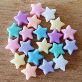 Pastel Mix - Pentagram Ster