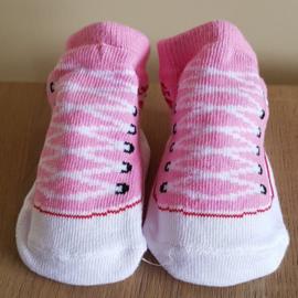 Sneaker sokjes - Roze