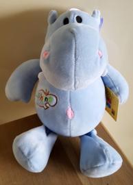 Pluche Nijlpaard - Blauw