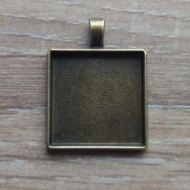 Hanger Vierkant - 25 mm
