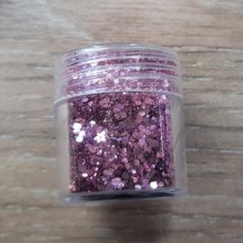 Glitter Roze