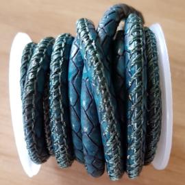 Snake - Teal Green 5 mm