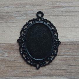 Hanger Ovaal - Zwart