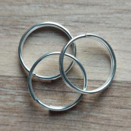 Ring 20 mm - Zilver