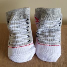 Sneaker sokjes - Grijs / Taupe