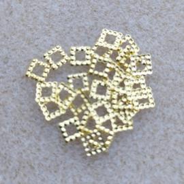 Vierkantje - Goud - Klein