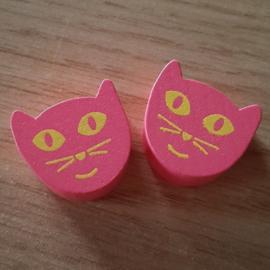 Roze Poezenkopjes