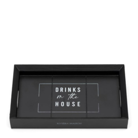 Riviera Maison - Drinks on the house mini tray