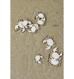 Riviera Maison - Port Bay decoration Crab 10pcs