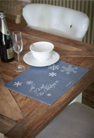 Riviera Maison - All I want for... placemat grey