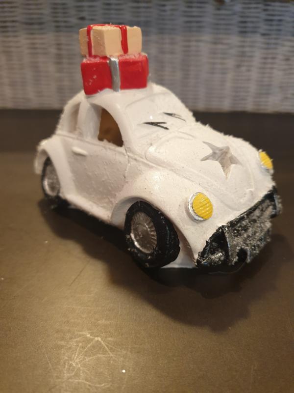 Auto met verlichting