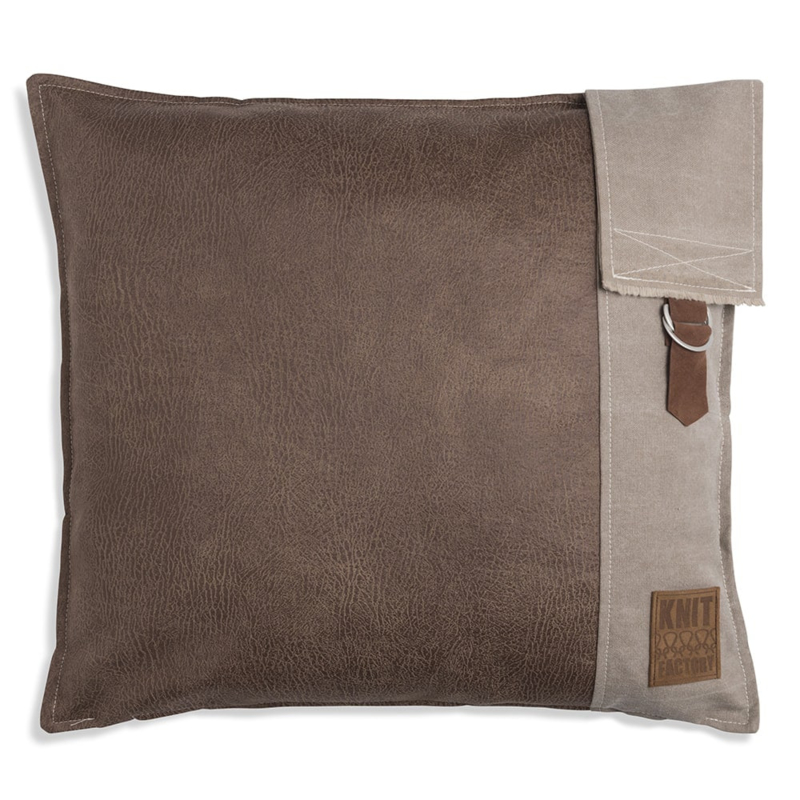 Kussen Luc 50x50 Taupe