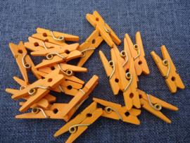 Miniknijpertjes Oranje