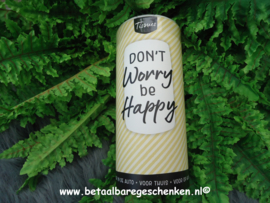 """Tissue dispencer """"Don't Worry"""""""