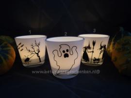 Waxinelichthouders Halloween (2)