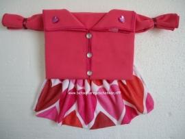 """Microjurk """"Hart roze"""""""