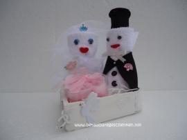 """Huwelijksgeschenk """"Bruidspaar"""""""