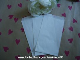Witte zakjes