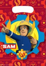 "Traktatiezakjes ""Brandweerman Sam"""