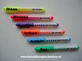Traktatie markerpennen met naam