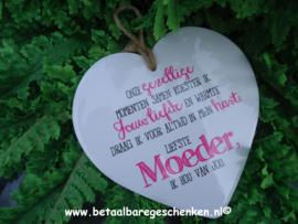 """Stenen hart """"Moeder"""""""