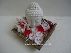 Cadeau/starterset ''Boeddha roos''