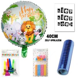 """Ballon cadeaupakket """"Jungle"""""""