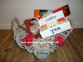 Luxe koffie/thee cadeaumand