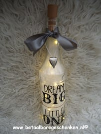 "Fles ""Dream Big"""