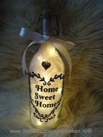 "Fles ""Home Sweet Home"""