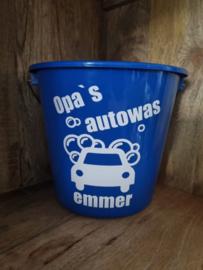 "Opa ""Autowas emmer"""