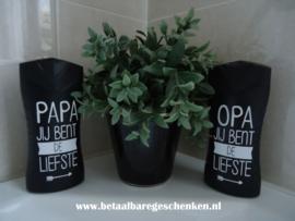 "Axa badschuim ""Papa"" of ""Opa"""