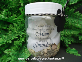 "Pot met geurbloem ""Mom"""