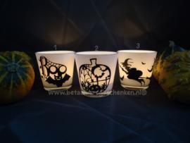Waxinelichthouders Halloween (1)