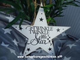 """Houten ster """"Twinkle"""""""