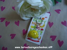 Uitdeel sleutelhanger citroen