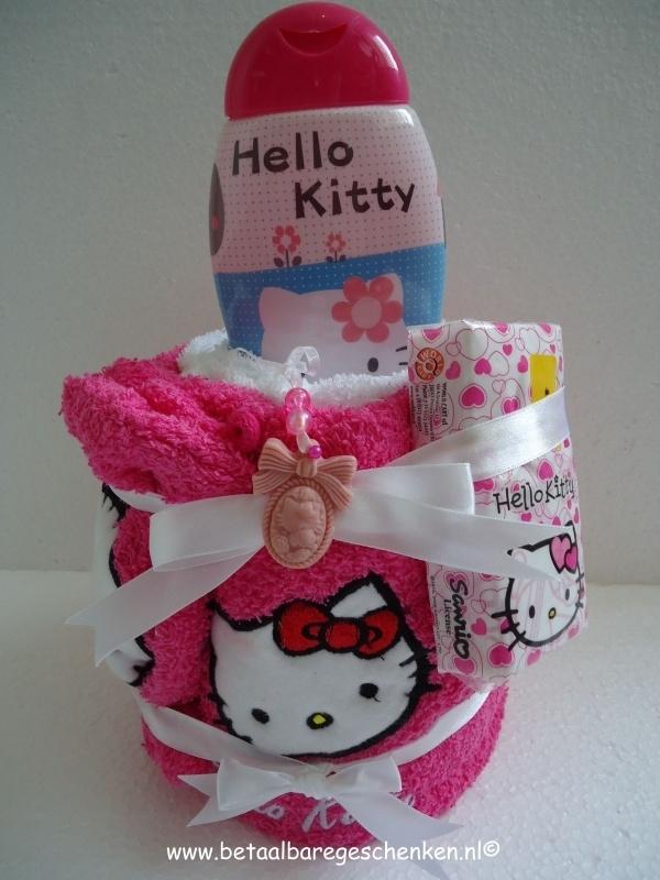 Handdoek Hello Kitty.Handdoek Taartje Hello Kitty Reeds Verkocht A D