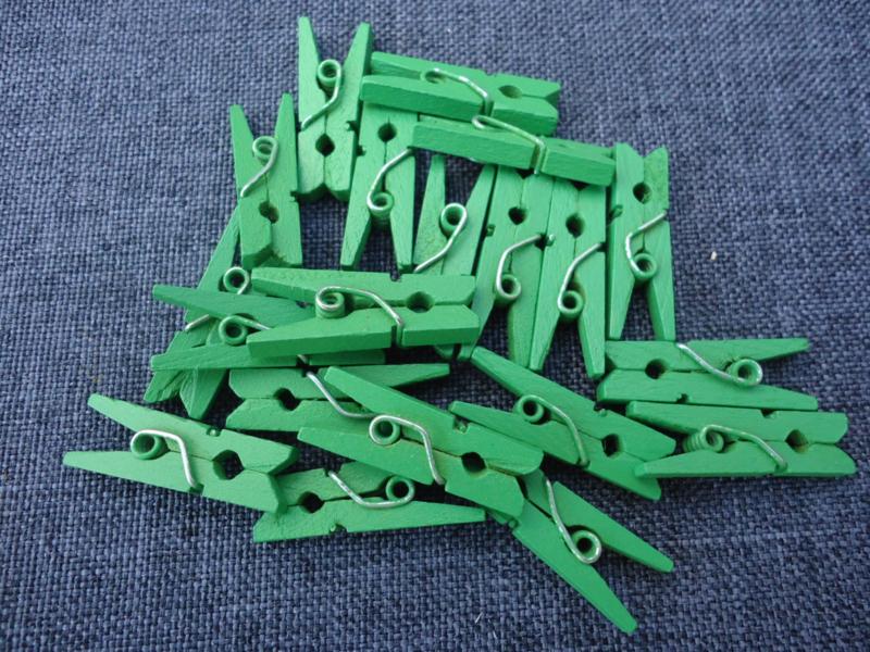 Miniknijpertjes Groen