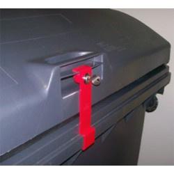 "Containerslot Weber 1.100 liter type ""deksel-in-deksel"""