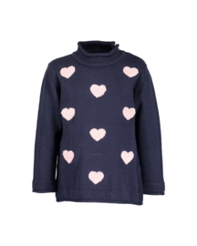 Blue Seven Pullover Donkerblauw
