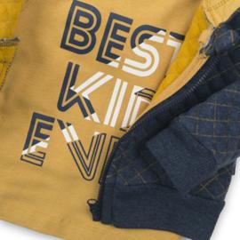 Dirkje Set Vest+Broek+Shirt Grijs/Oker/Navy