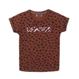 DJ Dutchjeans Shirt 'L'Amour' Cognac