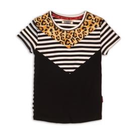 DJ Dutchjeans Shirt Black+White Stripe