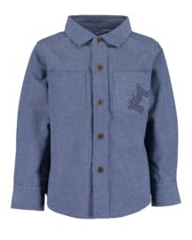 Blue Seven blouse Donker Jeansblauw