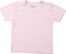 Dirkje Basic Shirt Korte Mouw Roze