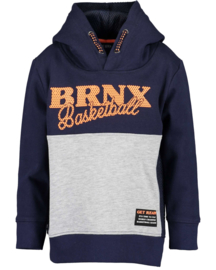 Blue Seven Sweatshirt met capuchon 'Big City Sports' Donkerblauw