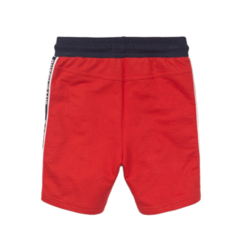 DJ Dutchjeans Joggingshorts 'Faster - Stronger' Red